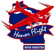 Never Forgotten Honor Flight logo